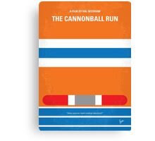 No411 My The Cannonball Run minimal movie poster Canvas Print