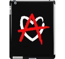 Love anarchy iPad Case/Skin