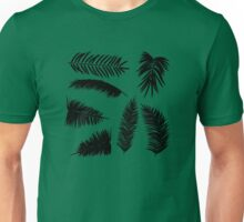 Palm Leaves silhouettes Unisex T-Shirt