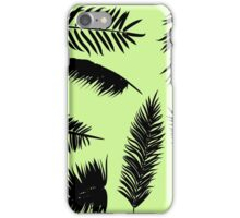 Palm Leaves silhouettes iPhone Case/Skin