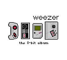 Weezer 8 Bit Album Photographic Print