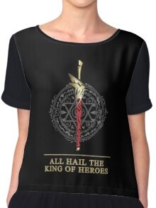 All Hail The King of Heroes Chiffon Top