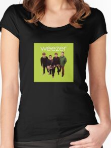 Green Album Women's Fitted Scoop T-Shirt