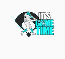 It's Game Time - Baseball (Aqua) Men's Baseball ¾ T-Shirt