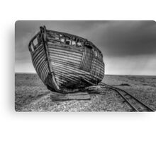Derelict Boat at Dungeness (2) Canvas Print