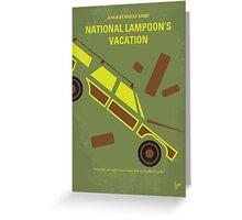 No412 My National Lampoon's Vacation minimal movie poster Greeting Card