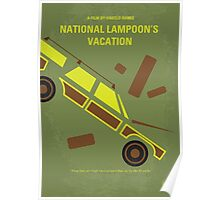 No412 My National Lampoon's Vacation minimal movie poster Poster