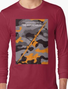 No413 My The expendables minimal movie poster Long Sleeve T-Shirt