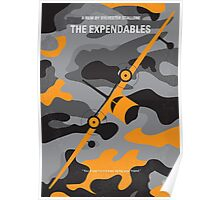 No413 My The expendables minimal movie poster Poster