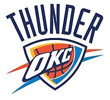 NBA THUNDER OKC Photographic Print
