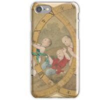A FINE PAINTING OF BOYS AFTER LANG SHINING iPhone Case/Skin
