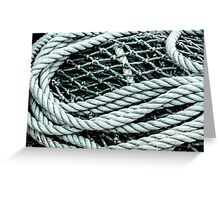 Net and Rope Greeting Card