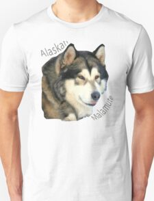 Products with breeds of dogs, Alaskan Malamute T-Shirt