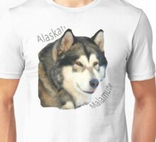 Products with breeds of dogs, Alaskan Malamute Unisex T-Shirt