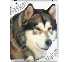 Products with breeds of dogs, Alaskan Malamute iPad Case/Skin