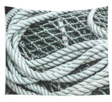 Net and Rope Wall Tapestry
