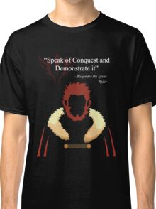 Iskandar Quotes Speak of Conquest and Demonstrate it Classic T-Shirt