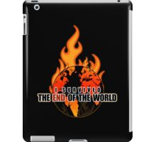 I Survived The End of the world iPad Case/Skin