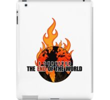 I Survived The End of the world (WHITE) iPad Case/Skin