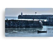 Folkestone Harbour Canvas Print