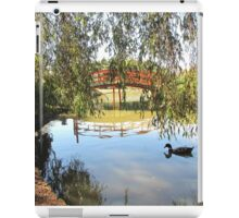 Japanese garden iPad Case/Skin