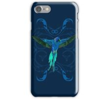 The Blue Parrot iPhone Case/Skin