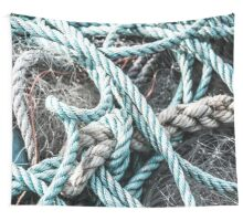 Rope on Net Wall Tapestry