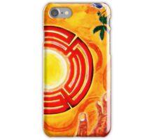 Magic Hands, Spirituality, orange, earth, flower iPhone Case/Skin