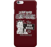 MFATGG Booze iPhone Case/Skin