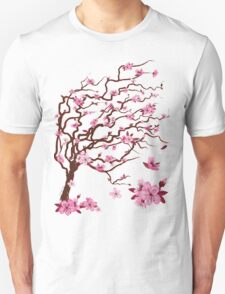 Japanese cherry tree | Árbol del cerezo japonés T-Shirt