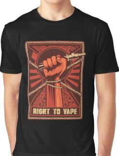 Right to Vape Graphic T-Shirt