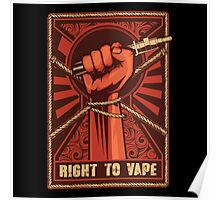 Right to Vape Poster
