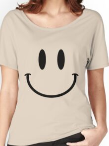 huge smiley Women's Relaxed Fit T-Shirt