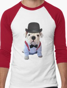 Bulldog Hat Men's Baseball ¾ T-Shirt