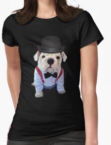Bulldog Hat Womens T-Shirt