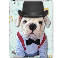 Bulldog Hat iPad Case/Skin