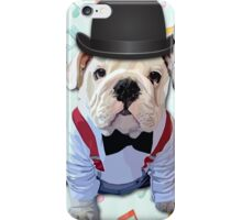 Bulldog Hat iPhone Case/Skin