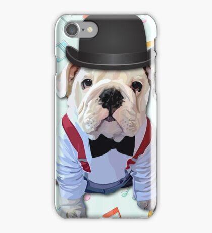Bulldog Hat iPhone Case/Skin
