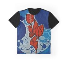 Rose, blue, Universe, Spirituality, blue star shaker Graphic T-Shirt