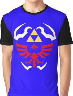 Hylian Shield - Legend of Zelda Graphic T-Shirt