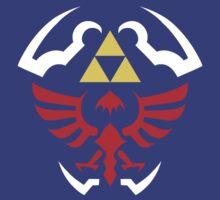 Hylian Shield - Legend of Zelda by TheInternet