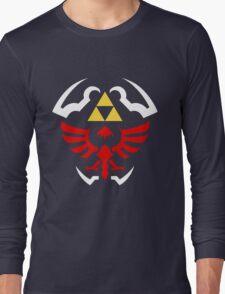 Hylian Shield - Legend of Zelda Long Sleeve T-Shirt