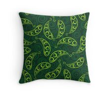 Bio Green Power Throw Pillow