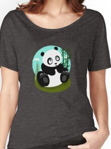 Baby Panda Women's Relaxed Fit T-Shirt