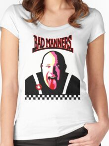 It's A Bad Bad Manners Women's Fitted Scoop T-Shirt