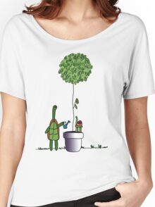 Gardening Turtle 2.0 Women's Relaxed Fit T-Shirt