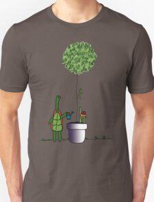 Gardening Turtle 2.0 Unisex T-Shirt