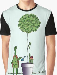 Gardening Turtle 2.0 Graphic T-Shirt