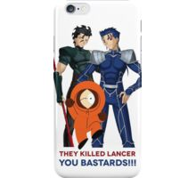They Killed Lancer - You Bastards iPhone Case/Skin