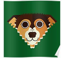 Jack Russell Terrier Cross Poster